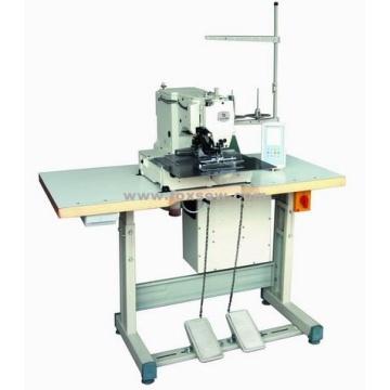 Máquina de coser con tachuela y correa de mango