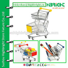 double tier hand shopping cart minimal size