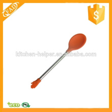 Simple and Healthy Silicone Feeding Spoon Stirring Coffee Spoon