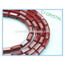 Granos cristalinos al por mayor baratos del rectángulo de la joyería de la alta calidad en bulto