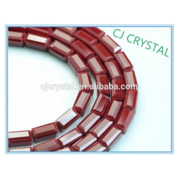 Hochwertige preiswerte Großhandelskristallschmucksache-Rechteckkorne in der Masse