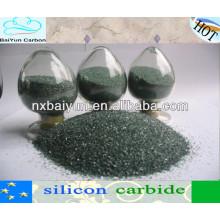 carburo de silicio para abrasivos y refractarios