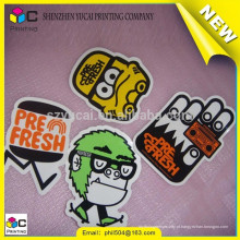 Empreiteiro de impressão personalizado com desenhos animados da China e impressão de etiqueta customizada de etiquetas coloridas