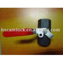 Válvula de bola de acero al carbono