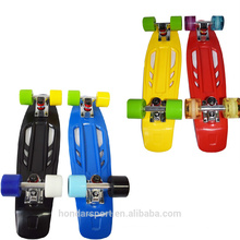 2016 the best 22 inch plastic skateboards for sale with low price