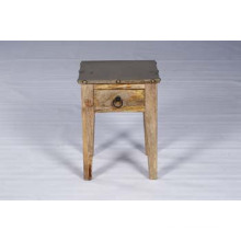 New Arrival Solid Mango Wood Side Table