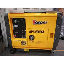 6.0kw 50Hz/6.5kw 60Hz Soundproof Air Cool Portable Diesel Generator