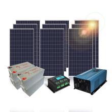 Solar power kits 5000w off grid solar generator from solar systems supplier