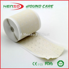 HENSO Perforated Adhesive Zinc Oxide Plaster Tape