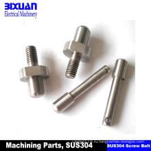 Часть CNC подвергая механической обработке винта-подвергая механической обработке часть, поворачивая части