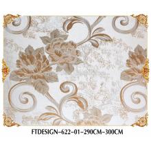 3D Green Wallpaper,Seamless Wallcloth,Fabric Wall Paper