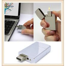 2015 Metal blanco más ligero USB Flash Drive para Boy (EM026)