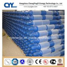 Hochdruck-nahtloser Aluminium-Sauerstoff-Gas-Zylinder