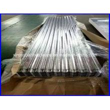 Feuille de toiture Gi / Feuille d'acier ondulé galvanisé