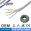 SIPUO caliente vender a precio de fábrica de utp cat5e cable chaqueta doble al aire libre