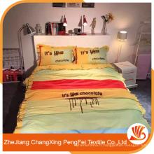 Fournir une belle impression avec des feuilles de lettres pour le lit