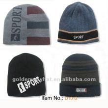 2012 chapeau en caoutchouc acrylique en caoutchouc pour hiver