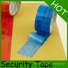 Tamper Proof Security Packaging Cinta vacía para protección de embalaje