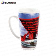 Sublimation White Ceramic Conic Mug Blank 17oz à bon marché Wholsale Original Factory Manufacturer
