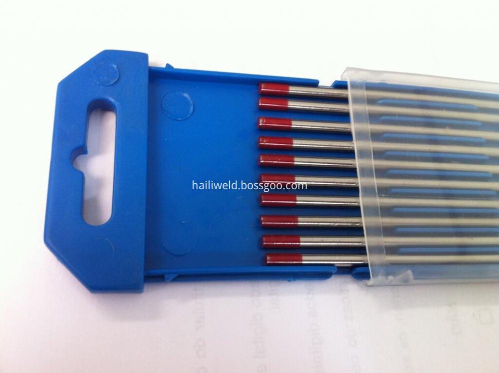 Wt20 Red Tungsten Electrode