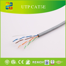 Твердый чуть-чуть медный проводник кабель UTP кабель cat5e-4П ПВХ куртка