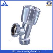 Латунный угловой клапан с пластиковой ручкой (YD-5011)