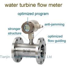 Medidor de vazão de turbina de medição de fluxo de diésel ou água