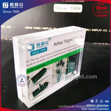 Fabrik-direkter Verkauf 4X6 Acryl magnetischer Foto-Rahmen