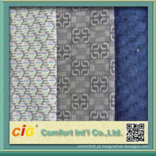 China alta qualidade Design novo veludo tecido para assento de ônibus