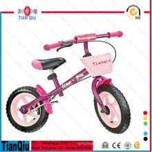 Дети первый баланс велосипед с корзиной