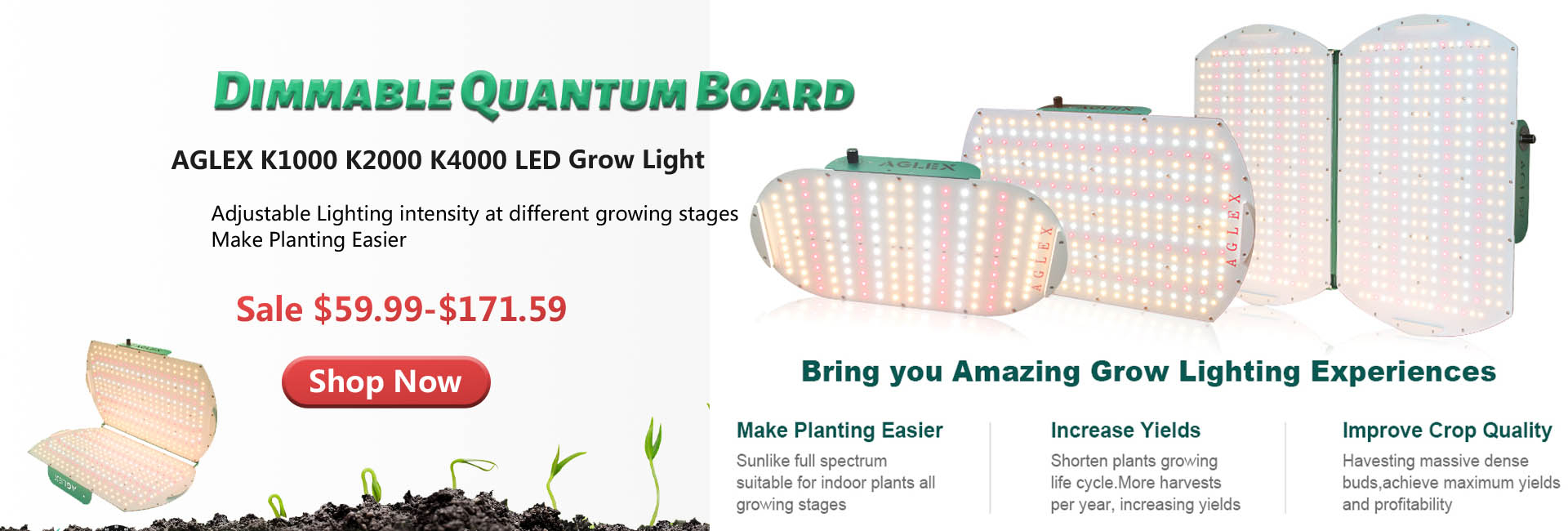 k series led grow light