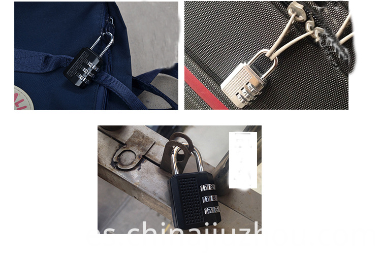 Zinc Alloy Lock for Your Luggage