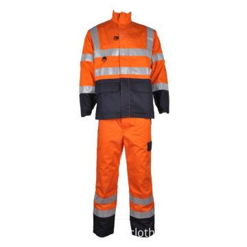 worker fire retardant overalls boiler suit