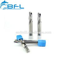 Fabricación del cortador de fresado BFL, herramientas de corte de acrílico del cortador de fresado de una sola flauta