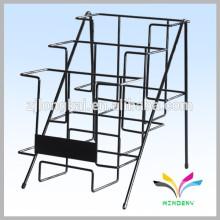 Fábrica de suministros OEM Diseño tienda de escritorio de alambre de metal folleto pantalla bastidores