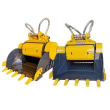 Caçamba trituradora de rompedor hidráulico PC360