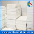 Hersteller-Schaum-Blatt-Hersteller PVCs (heiße Größe: 1.22m * 2.44m)