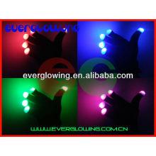 Luvas de luz LED para festas