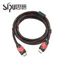 SIPU de alta velocidad de ethernet dorado 2.0 hdmi 4k cable para HDTV