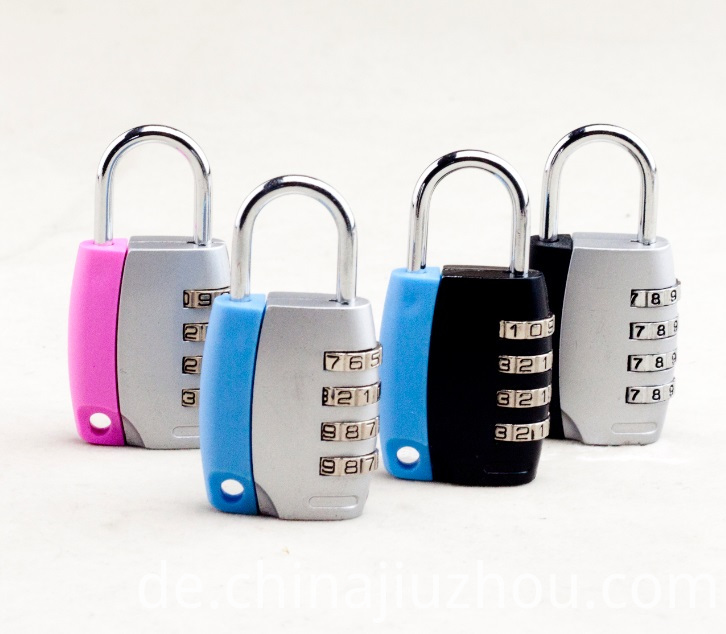 How to use combination padlock