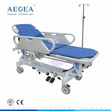 AG-HS009 con Linak motor hospital económico paramédico equipo ambulancia camilla para la venta