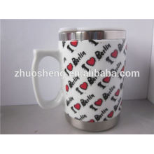 new products 2015 innovative product stainless steel promotional ceramic travel mug