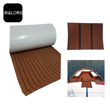 Dark Brown + Black Color Marine EVA Foam Yacht Flooring