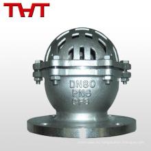 válvula de pie de una vía con filtro para bomba de agua