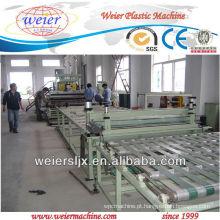 máquina de plástico confiável para linha de folha de TPU