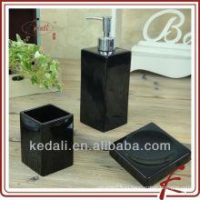 Набор из 3 керамических аксессуаров для ванной комнаты