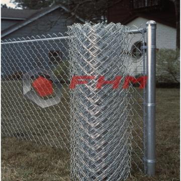 Fio galvanizado do calibre 12 da cerca da ligação Chain