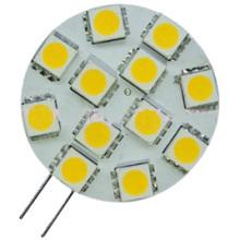 G4 Bombilla LED de 12 LED 5050 (GN-HP-WW1W12-G4)