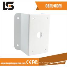 Personalize o suporte de canto da montagem da parede da câmera do CCTV da liga de alumínio