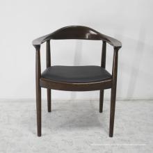 Chaise en bois de style classique avec des meubles de maison de haute qualité
